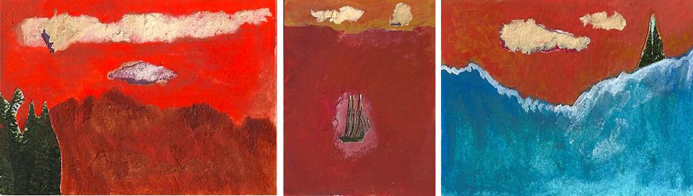Joanie Landescape 3 pieces